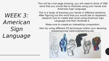Extensive Powerpoint of observational Drawing Tasks