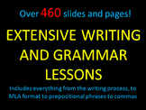 Extensive Writing and Grammar Lessons