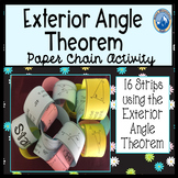 Exterior Angle Theorem Paper Chain Activity