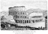Exterior of the Colosseum / Coliseum #2