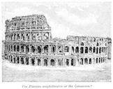 Exterior of the Colosseum / Coliseum
