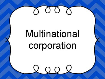 External Influences in Business Multi-Use Resource