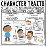 External and Internal Character Traits