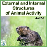 External and Internal Structures of Animals:  4-LS1