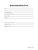 Externship Safety Form