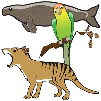 Extinct Animals Clip Art