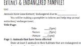 Extinct/ Endagered Animal Pamphlet Rubric