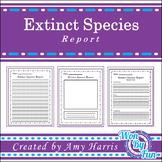 Extinct Species Report