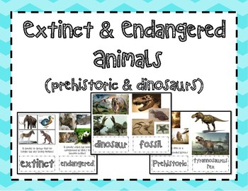 Extinct and Endangered Animals- Prehistoric and Dinosaurs