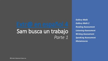 Extr@ Episode 4, Parte 1: Gallery walk, Assessments and Matamoscas
