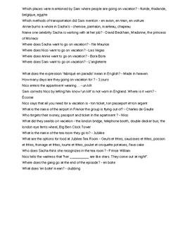 Extr@ French Episode 11 - Vocabulaire et Questions