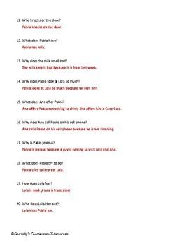 Extr@ en español  Episode 1 Section 1 Summary & questions (Spanish Extra)