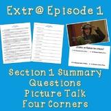 Extr@ en español  Episode 1 Section 1 Summary with questio