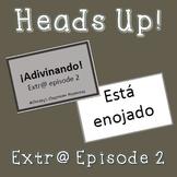 Extr@ en español Episode 2 Heads Up Game (Spanish Extra en
