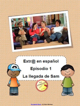 freebie extra en espa ol spanish extr episodio 1 la llegada de sam. Black Bedroom Furniture Sets. Home Design Ideas