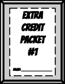 Extra Challenge Packet