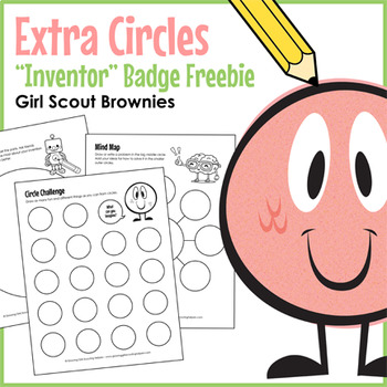 Extra Circles Girl Scout Brownies Inventor Badge Freebie Steps 1