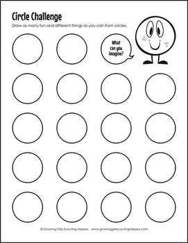 "Extra Circles - Girl Scout Brownies - ""Inventor"" Badge Freebie (Steps 1, 4 & 5)"