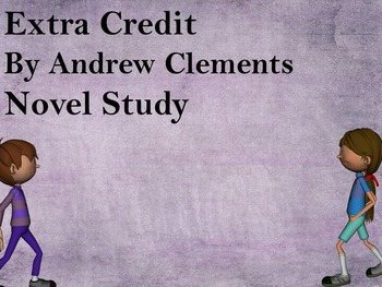 Extra Credit Novel Study