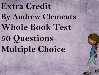 Extra Credit Test