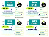 Extra Credit Certificates