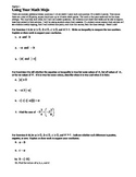 Extra Credit Chapter 2 - Class Cooperative Learning