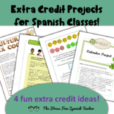 Extra Credit Ideas for Spanish Classes! other foreign languages too!