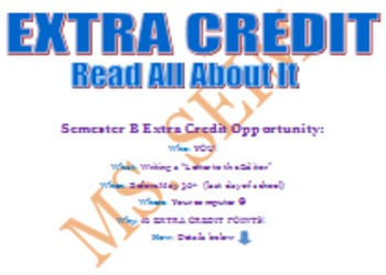 "Extra Credit ""Letter to Editor"" (editable)"