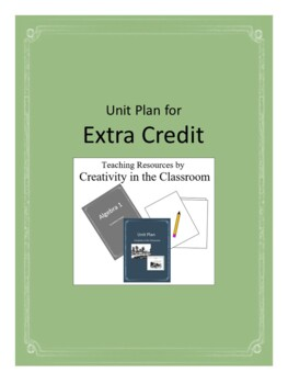 Extra Credit Novel Unit Plus Grammar