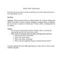 Extra Credit Project: Beginner Intermediate Mandarin Chinese