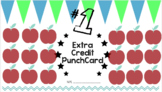 Extra Credit Punchcard FREE