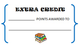 Extra Credit Tickets