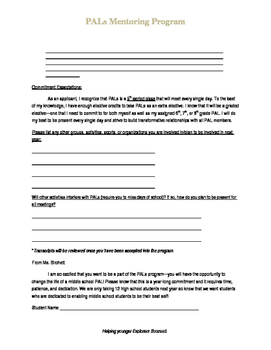 Extra Curricular Application for Students