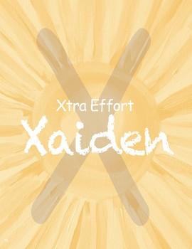 Extra Effort Xaiden - Effort & Study Skills
