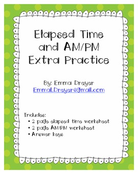 Extra Elapsed Time Practice