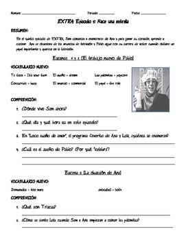 Extra Episodes Spanish Teaching Resources   Teachers Pay Teachers