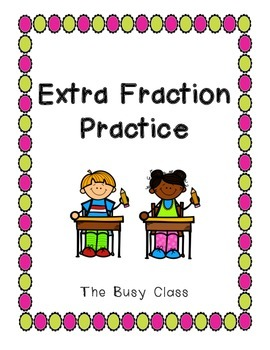 Extra Fraction Practice