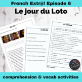 Extra! French - worksheets to accompany episode 6 - Le jou