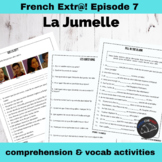 Extra! French - worksheets to accompany episode 7 - La Jumelle