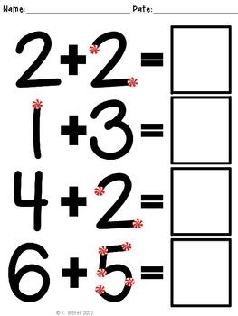 Christmas Math Addition