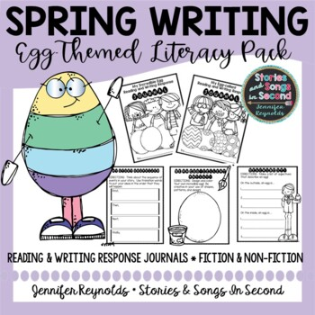 Extra Special Egg Reading and Writing Response Journal for Spring