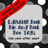 Extra Sturdy Editable Classroom Library and Book Box Label