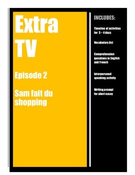 Extra TV in French - Episode 2