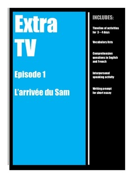 Extra TV in French - Episode 1