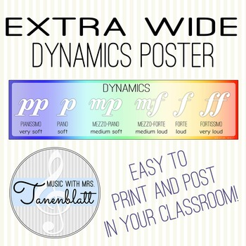 Extra Wide Dynamics Poster