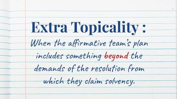 Extra and Effects Topicality