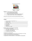 Extra en Español Episode 7 La Gemela worksheet