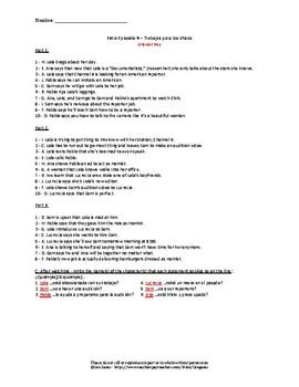 Extra en Español Episode 9: Stress-free print and go viewing activity