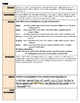 Literary Analysis: Theme, Tone, Structure, Language Handout and Worksheet