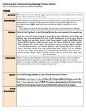 Literary Analysis: Theme, Tone, Structure, Language Handou